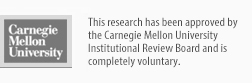 Research approved by CMU Institutional Review Board